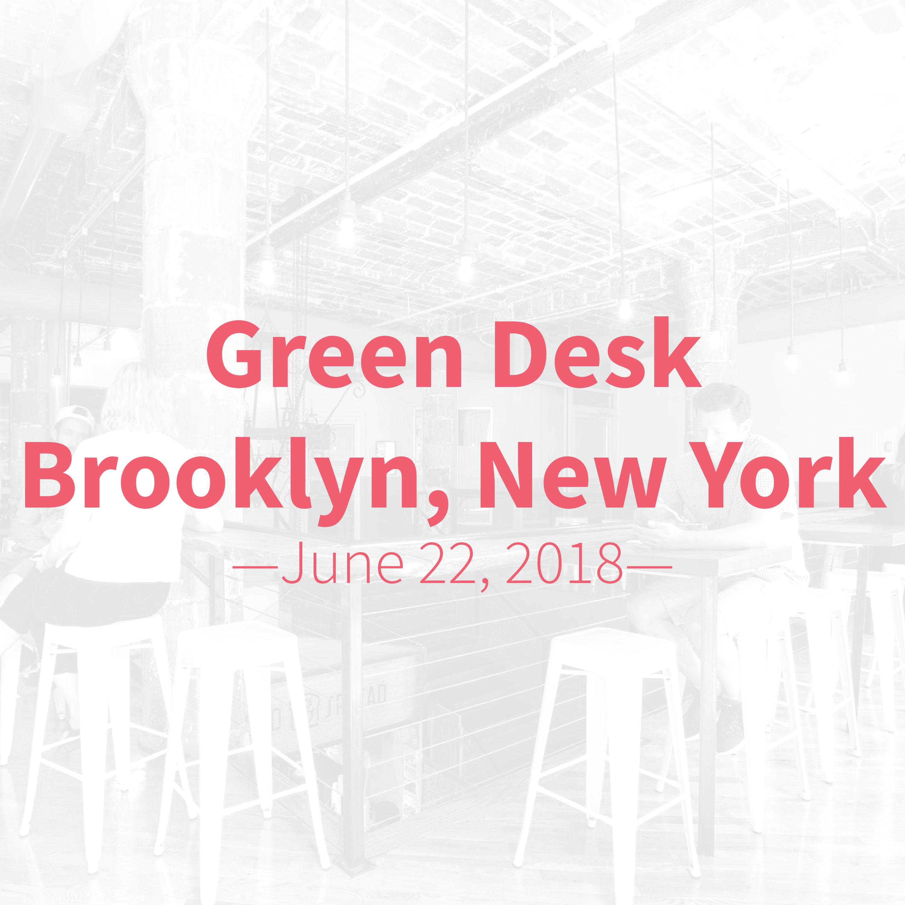 tableau data visualization workshop at green desk coworking in brooklyn new york
