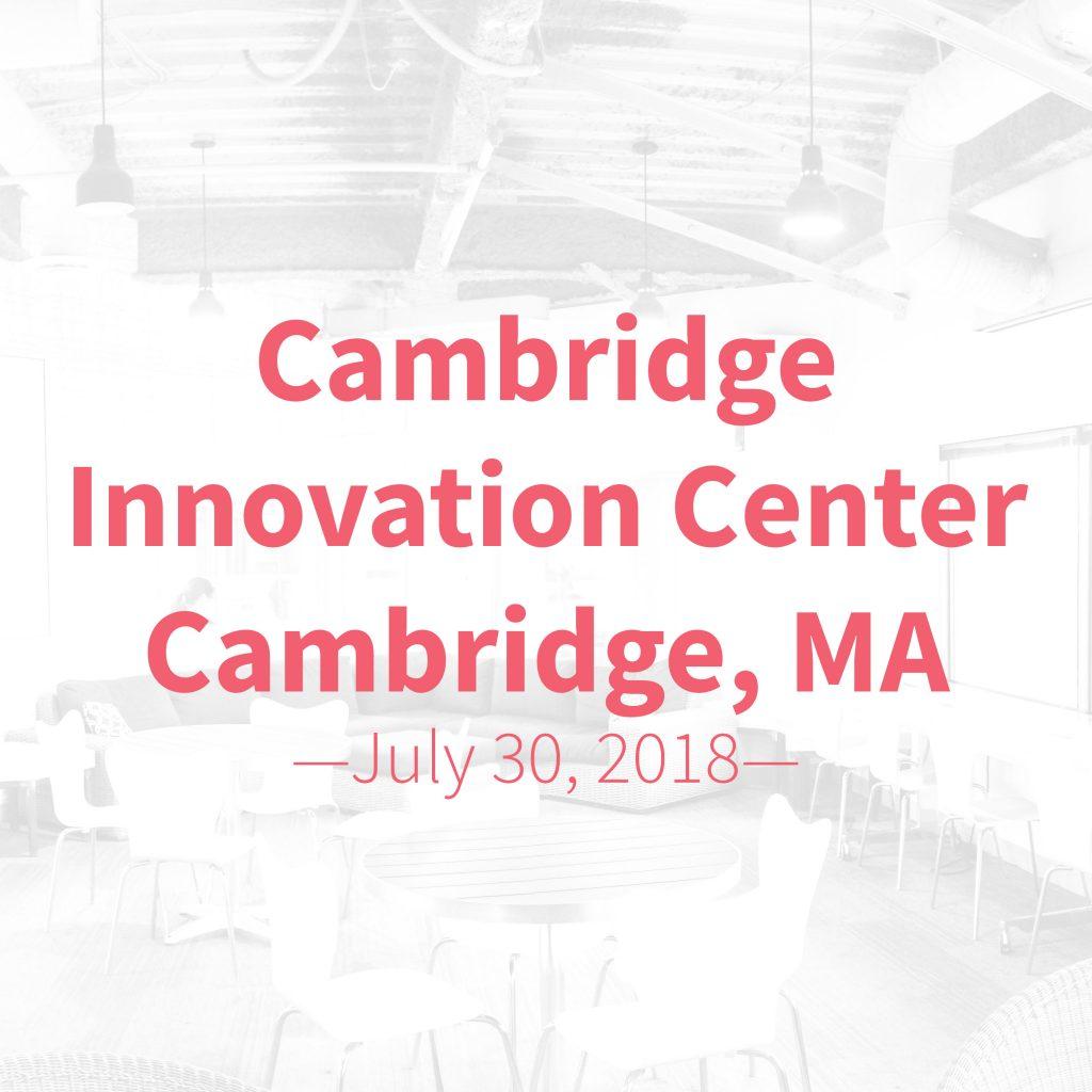 tableau data visualization workshop at CIC Cambridge